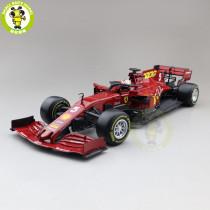 1/18 BBURAGO 16808 Ferrari SF1000 S.Vettel C.Leclerc FORMULA 1 F1 #5 #16 Diecast Model Car Toys Boys Girls Gifts