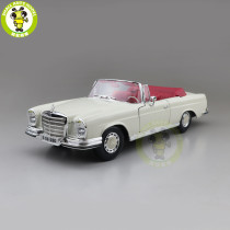 1/18 Medcedes Benz 280SE 1967 Maisto 31811 Diecast Metal Model Car Toys Boys Girls Gifts