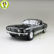 1/18 1967 Ford Mustang GTA Fastback MAISTO 31166 Diecast Model car Toys for gifts collection hobby