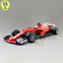 1/18 Ferrari SF70H S.Vettel K.Raikkonen Bburago 16805 #5 #7 Diecast Model Car Toys Boys Girls Gifts