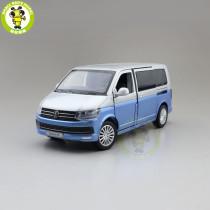 1/32 VW Volkswagen Multivan T6 MPV JKM Diecast Model Car Toys Kids Boys Girls Gifts