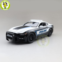 1/18 2015 Ford Mustang GT Police Car 911 Maisto 31397 Diecast Model Car Toys Boys Girls Gifts