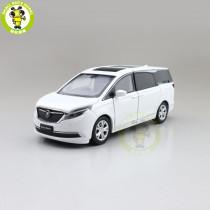 1/32 JKM Buick GL8 Mpv Diecast Model Car Toys kids Boys Girls Gifts sound lighting
