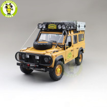 1/18 Land Rover Defender 110 CAMEL TROPHY Support Unit Sabah Malaysia 1993 Almost REAL 810310 Diecast Model Toys Car Boys Girls Gifts