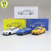 1/64 JKM Subaru WRX STI Diecast Model Toys Car Boys Girls Gifts