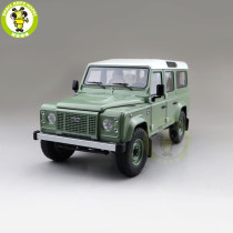 1/18 Land Rover Defender 110 Heritage Edition 2015 Almost REAL 810307 Diecast Model Toys Car Boys Girls Gifts