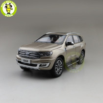 1/18 China Ford Everest 2019 SUV Form Ranger Diecast Sacle Model Car Toys