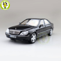 1/18 Mercedes Benz S600 1998 S CLASS W220 Norev Diecast Metal Toys Car Model Boys Girls Gifts