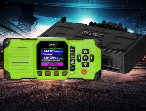 VERO VR-6900 50W Dual Band Car Truck Mobile Ham Radio