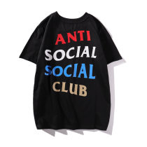 ASSC Star Alphabet Printed Street Short-sleeved T-shirt