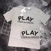 Play Letter Grey T-shirt