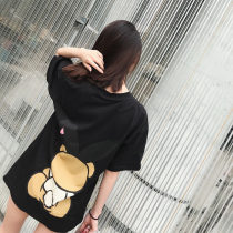 Bear pattern T-shirt