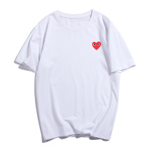 Love printed T-shirt with round collar