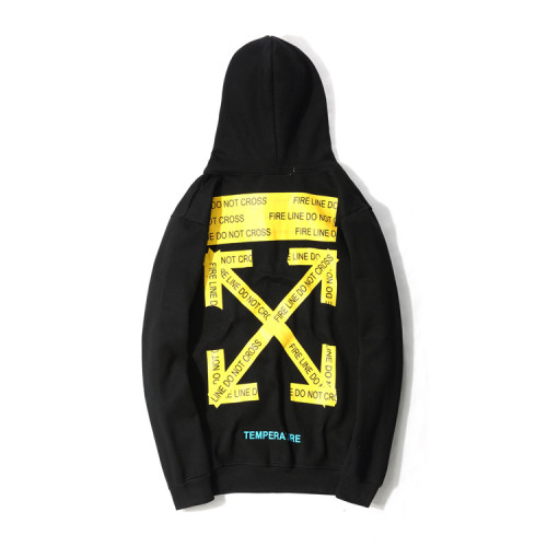 Yellow arrow base Hoodie