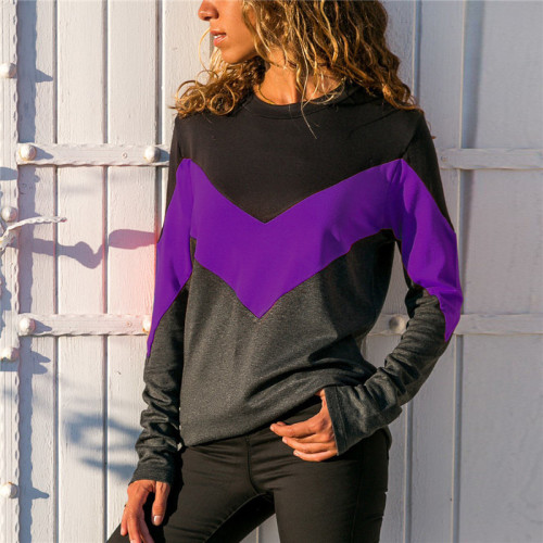 Ladies' Recreational Coloured Long Sleeve Lady's Top