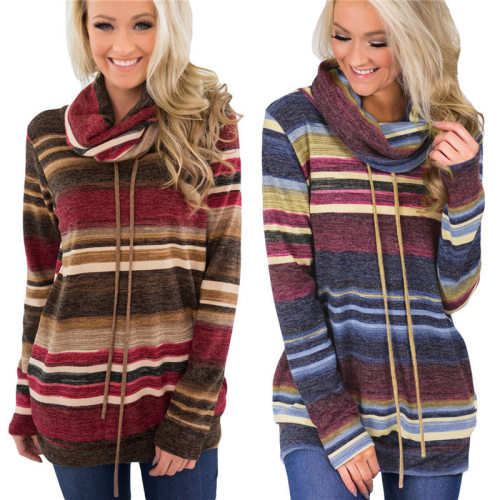 Ladies' Pile collar sweater
