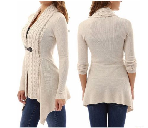Ladies' Plush cardigan coat