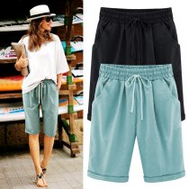 Ladies' Summer Loose Casual Five-cent Pants
