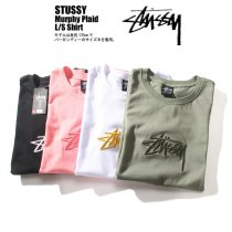 Stusy Embroidered cotton T-shirt
