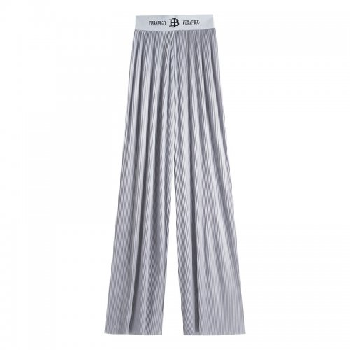 Ladies' Wide trousers/High waist trousers