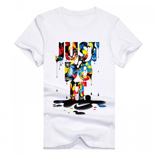 Men's JUST DO IT Printed T-shirt