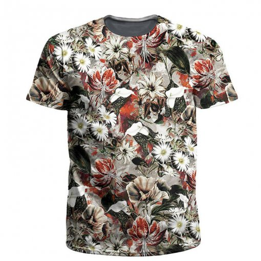 Men's Printed 3D T-shirt