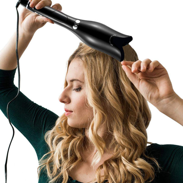 Rosette automatic infrared heating curling iron