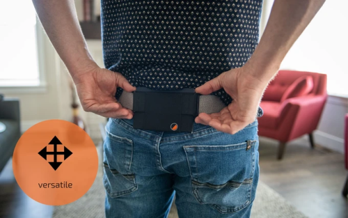 Zipone Pouch - The Minimalist Invisible Wallet