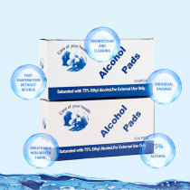 Disposable alcohol disinfection tablets
