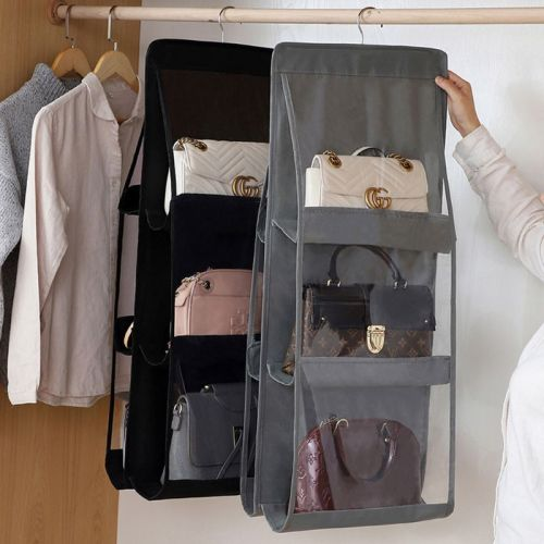 Double-sided six-layer bag hanging bag