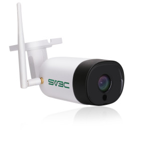 SV3C 5MP HD 2560x1920 Wireless Outdoor Security Camera with Two-Way Audio, IR Night Vision, Motion Detection, IP67 Waterproof Camera for Outdoor Indoor, Support Max 64GB SD Card