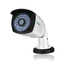 SV3C IP POE Camera Security Outdoor 4 Megapixels Super HD 2560x1440 H.265 Waterproof Video Camera Onvif IR Night Vision Motion Detection(Wired)