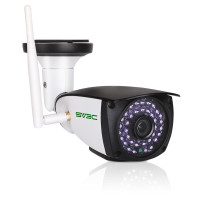 3MP WiFi Camera Outdoor, SV3C 3 Megapixels HD Security Camera, 2-Way Audio Surveillance Camera, Motion Detection IR LED Night Vision IP Camera, Indoor Outside Waterproof CCTV Support Max 128GB SD Card