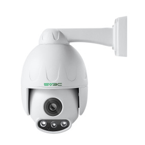 5MP PTZ Camera Outdoor, SV3C HD POE Security IP Camera Outdoor 5XOptical Zoom Pan Tilt Speed with Two-Way Audio, 165FT Night Vision-Sony Sensor, H.265 Onvif Motion Detection, Support Max 128GB SD Card