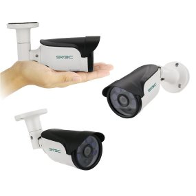 SV3C IP POE Camera Security Outdoor 5 Megapixels Super HD 2592x1944 H.265 Waterproof Cam Onvif IR Night Vision Motion Detection