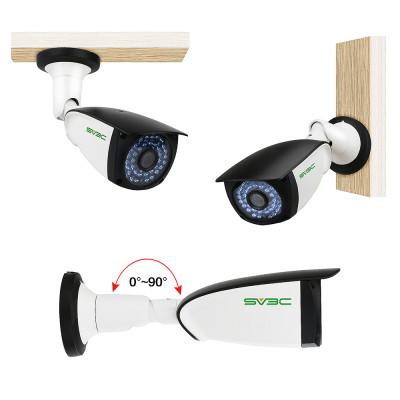 POE Camera, SV3C 1080P IP Camera Outdoor/Indoor(Wired), 36PCS IR LED Night Light Video Surveillance Home IP Security Camera, Waterproof Security Outdoor Motion Camera with H.265 ONVIF