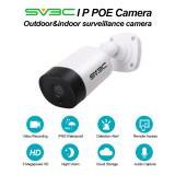 POE Camera, SV3C 5 Megapixels HD POE Security Camera Outdoor/Indoor, Video Surveillance Camera, Home Security Camera Audio IR Night Vision Motion Detection ONVIF IP66 Waterproof IP Security Camera