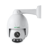 SV3C 3MP PTZ POE Camera Outdoor 5XOptical Zoom Pan Tilt Speed & 2.7-13.5MM Varifocal Lens Surveillance IP Security Two-Way Audio, 190FT Night Vision-Sony Sensor, ONVIF H.265, Support Max 128GB SD Card