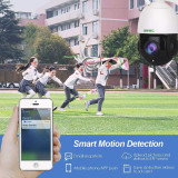 【20X Optical Zoom】SV3C 1080P WiFi PTZ Security Camera Outdoor, Pan Tilt with 20X Optical Zoom, Wireless IP Dome Surveillance CCTV Camera, 196ft IR Night Vision, Two-Way Audio, IP66 Waterproof, Built-in SD Slot