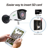 5MP Outdoor Security Camera, SV3C 5X Optical Zoom WiFi Wireless Surveillance IP Camera System with Two-Way Audio, Motion Detection CCTV, Waterproof HD Night Vision Camera, Support Max 128GB SD Card
