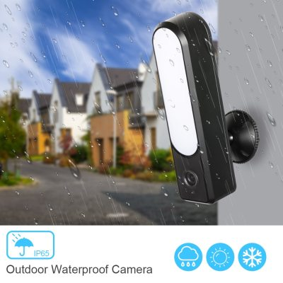 Tuya Camera Smart Outdoor Floodlight Camera 1080P Wifi Camera HD Waterproof LED Lamp P2P Security IP Camera Night Vision Garden