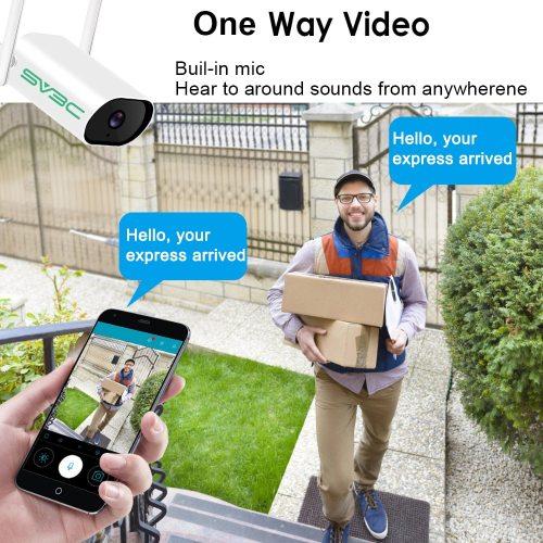SV3C 3MP Wireless Surveillance Camera System Waterproof CCTV System Video Surveillance Kit Audio Camera Night Vision NVR Set