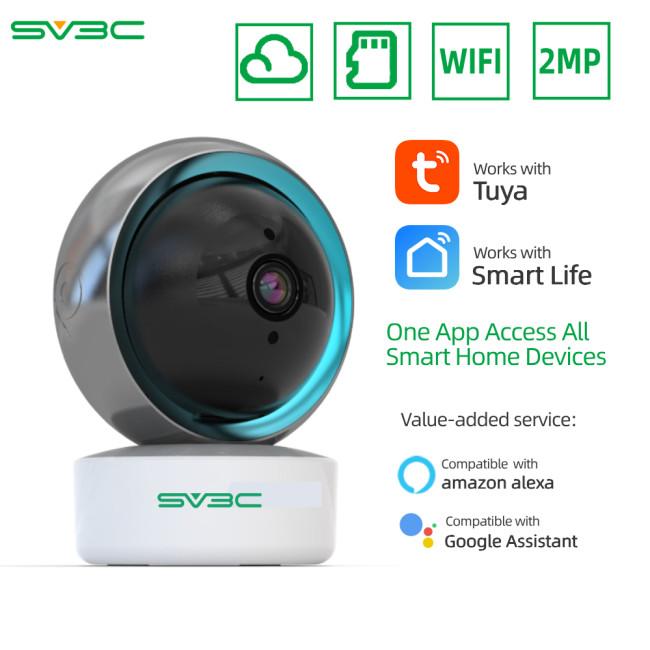 Tuya Smart Life 1080P IP Camera 2MP Wireless WiFi Security Surveillance CCTV Camera Baby Moniter Google home Assistant Alexa