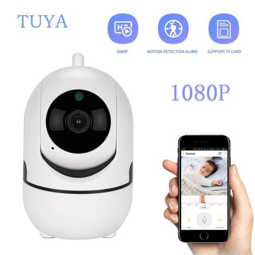 SV3C Indoor IP Security Camera 1080P WiFi Camera Wireless Mini Baby Monitor Babyphone Video Surveillance Cam Tuya Smart APP for Home Security