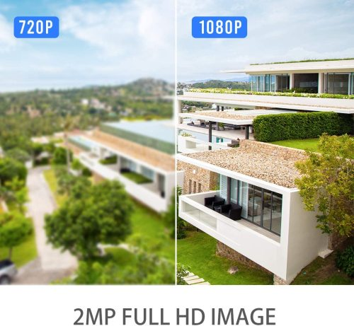 SV3C Tuya Smart Life WiFi Camera 1080P Wireless Home Security Outdoor Camera Two Way Audio Motion Detection