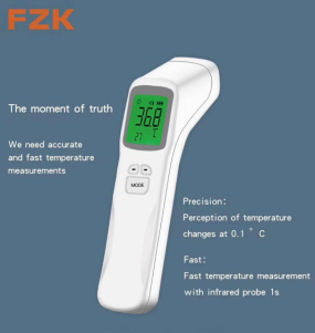 Easy Operation Manufacturer In-stock OEM Automatic Infrared Digital Non Contact Forehead Wrist Ear Body Thermometer