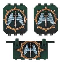 DARK ANGELS MK2B LAND RAIDER DOORS