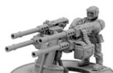 IMPERIAL GUARD SABRE DEFENCE PLATFORM WITH HEAVY STUBBERS