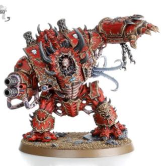 Hammer 40K Dark Revenge Chaotic Star Warrior Hell Beast fearless Warhammer Resin Model
