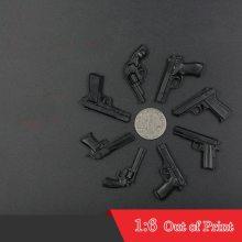 Out of Print First Generation 4D Assembling Gun Pistol 8pcs/set 1:6 Scale Plastic Toy